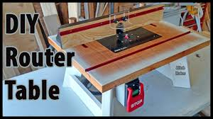 build a benchtop router table diy youtube