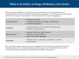 unique mckinsey cover letter sample 75 for free cover letter