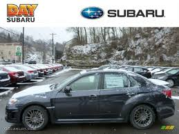 2013 dark gray metallic subaru impreza wrx limited 4 door