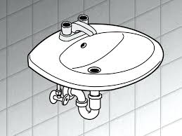 bathroom sink bathroom sink drain pipe replace a step trap