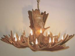 Antler Chandelier Net The Kenai U201d Moose Antler Chandelier Wild Designs