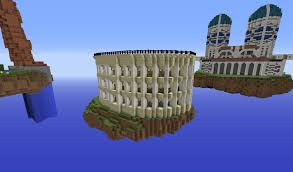 minecraft roman colosseum building with optical creeper episode 5