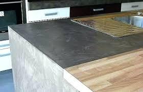 beton ciré pour plan de travail cuisine beton cire plan de travail beton cire sur carrelage de cuisine plan