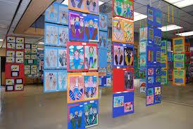art show ideas art program open house art show