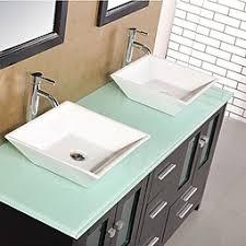 Glass Vanity Tops Glass Bathroom Vanity Top My Web Value