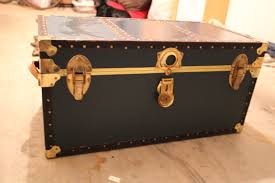 Vintage Trunk Coffee Table Antique Trunk Coffee Table 5425
