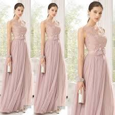 cheap bridesmaid dresses blush bridesmaid dresses lace sheer bateau neckline a line