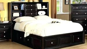 queen size bookcase headboard storage bed with bookcase headboard gorgeous queen bed bookcase