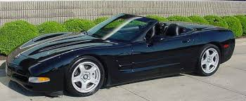 1998 corvette convertible for sale 1998 black corvette 6 597 units corvettes