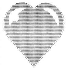 Ascii Art Meme - ascii art heart ascii heart