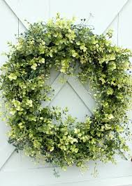 how to make an artificial boxwood wreath wreaths artificial