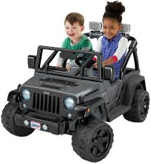 barbie jammin jeep fisher price power wheels deluxe jeep rubicon wrangler 12v ride 12