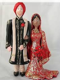 indian wedding cake toppers wedding cake toppers ethnic wedding cake toppers png