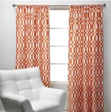 Blue And Orange Curtains Curtains For The Living Room Orange Blue And Gray New House