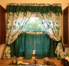 kitchen curtains ideas charming green solid tier withce particular