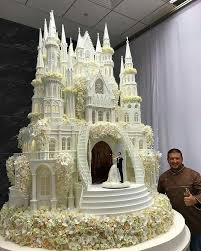 wedding cake castle pin by on cakes cake and food