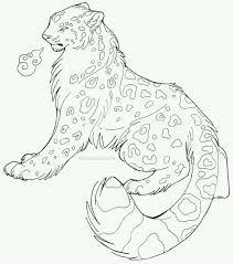 drawn snow leopard pinterest pencil and in color drawn snow