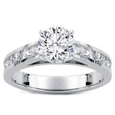 cathedral setting princess cut diamond cathedral setting r2978