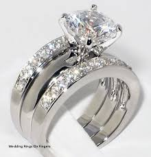 beautiful fingers rings images Wedding rings on fingers gold engagement ring set beautiful white jpg