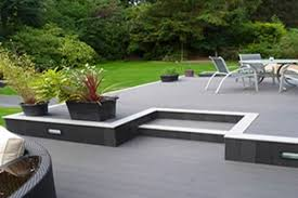 a platform deck designed and built with a subtle level change