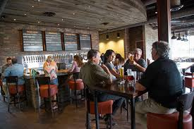 review dining at karbach brewery houston press