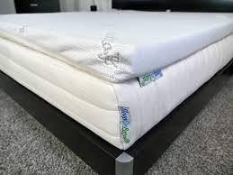 sleep on latex mattress topper review sleepopolis
