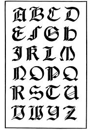 imagenes goticas letras dibujo para colorear tipo de letra gótica italiana img 11229