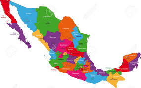 Queretaro Mexico Map mexico map stock photos royalty free mexico map images and pictures