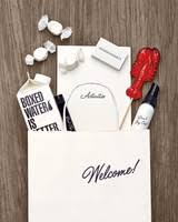 gift bags for wedding guests 102 welcome bags from real weddings martha stewart weddings