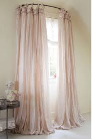 Curtain Ideas For Front Doors by Use A Curved Shower Curtain Rod To Make A Window Look Bigger 15
