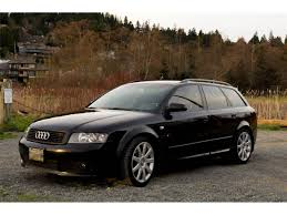 2005 audi a4 avant ultrasport 1 8t quattro manual 6sp black no