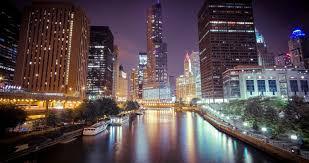Chicago night lights 62 wallpapers hd desktop wallpapers