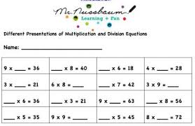 find the missing number equations worksheet educational