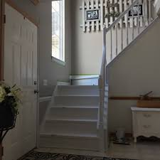 Stair Base Molding by From Drab To Fab Diy Staircase Remodel U2014 The Other Side Of Neutral