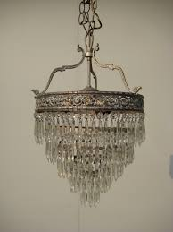 Antique Crystal Chandelier Antique Crystal Chandelier Shabby Home