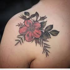 the 25 best wild rose tattoo ideas on pinterest shoulder tattoo