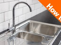 Kitchen Sink Faucet Replacement Kitchen Replacing A Kitchen Sink And 45 How To Install A Kitchen