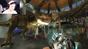 Jurassic Park Map Garry U0027s Mod Jurassic Park Mod Youtube