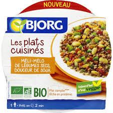 plat cuisiné bjorg plat cuisiné legumes secs gingembre monoprix fr