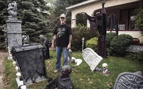 yards get halloween makeovers news clintonherald com