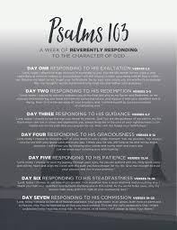 lord guide me psalms 7 days of prayer pbc blog