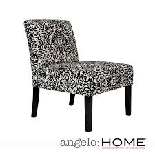 black and white overstuffed chair lounge chair black and white