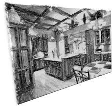 Sketch Kitchen Design by Kitchenscapes Custom Cabinetry And Design
