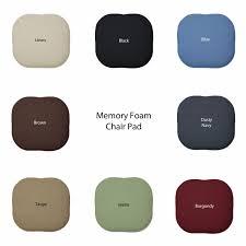 Memory Foam Chair Pad Foam Cushions