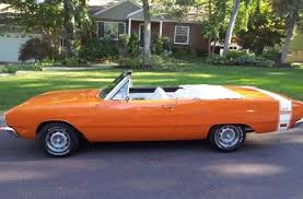 convertible dodge dart dreamsicle drop top 1969 dodge dart gt convertible bring a trailer