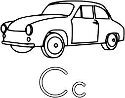 coloring pages easy cars coloring