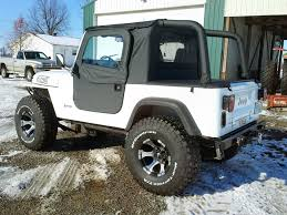 jeep soft top tan cj7 soft doors u0026 once the half doors are adjusted and fit slip the