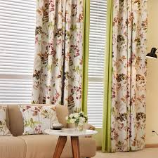 Floral Curtains Floral Curtains Modern Country Curtains Blackout Curtains For The