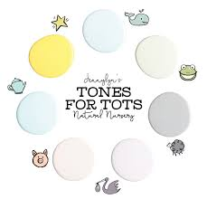 little whale fusion mineral paint tones for tots nursery dear