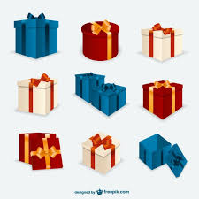 christmas present boxes gift boxes sketch drawings vector free vector in ai